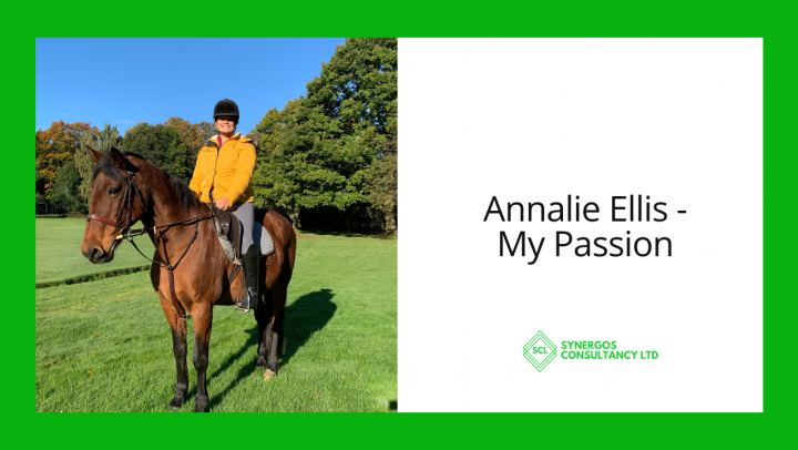 Annalie horse riding