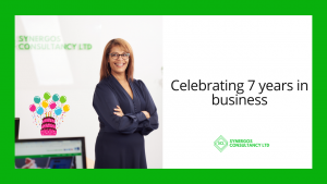 7 years in business